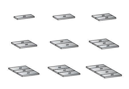 Bodenbaukasten für M100 Bodentragkraft Standard