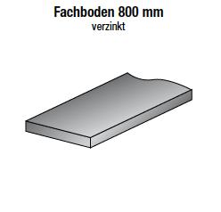 Fachboden 800 mm, verzinkt