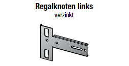 Regalknoten links